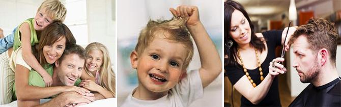 családi fodrászat, gyermek hajvágás, férfi hajvágás, hajmosás, hajszárítás, kupon, Ó-haj Fodrászat