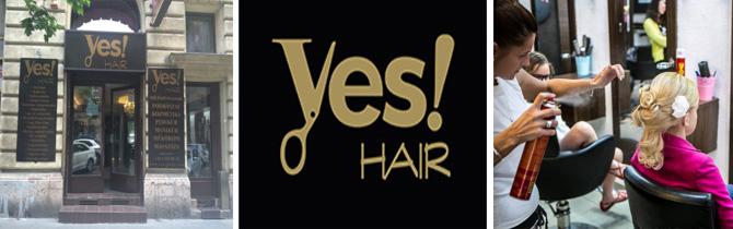 YES! Hair. hajvágás, mosás, szárítás,