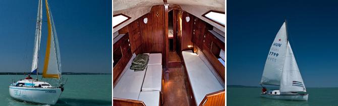 Talizmán Yacht, vitorlázás, sétahajó, hajózás, élmény, kikapcsolódás, balaton